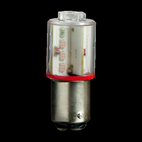 LED BR50 BA15d 230 AC RD