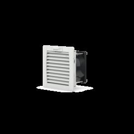 PF 11.000 Fanlı Filtre 230Vac IP54 RAL 7035 19 m³ / s 92x92x62mm