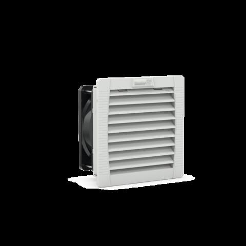 PF 22.000 Fanlı Filtre 230Vac IP54 RAL 7035 60 m³ / s 125x125x70mm