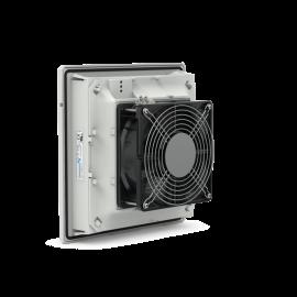 PF 32.000 Fanlı Filtre 230Vac IP54 RAL 7035 98 m³ / s 177x177c87mm