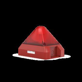 PYRA flashing light PY X-L-15 230Vac red 15J IP66