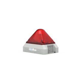 Flashing Light PY X-M-10 red,230Vac,10J,IP66