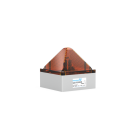 Flashing Light QUADRO F12 3G/3D amber,230Vac,7.5J,IP66