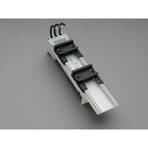 BARA ADAPTÖRÜ 63 A (32461) Kablolu Çift ayarlanabilir montaj raylı 54x260