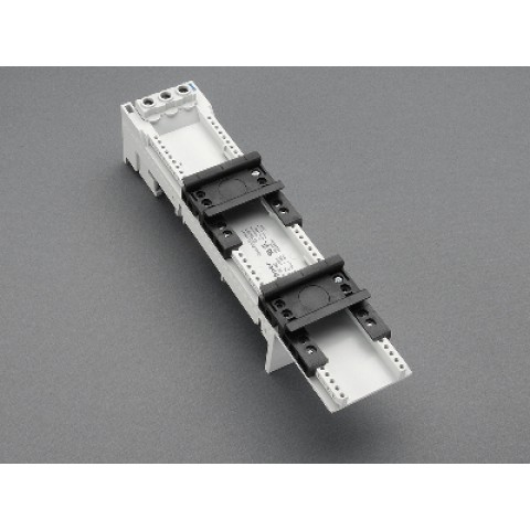 BARA ADAPTÖRÜ 80 A (32465) Klemensli Çift ayarlanabilir montaj raylı 54x260