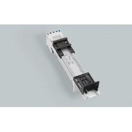 BARA ADAPTÖR(32636) Kontaksız Siemens S00 ve S0 için 1 ayarlanabilir montaj rayı ve 1 konumlayıcı 45x260