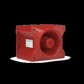 Sounder PA 10,95-265Vac,117dB,IP66,RAL3000