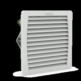 PF 43.000 Fanlı Filtre 230Vac IP54 RAL 7035 223 m³ / s 223x223x113mm