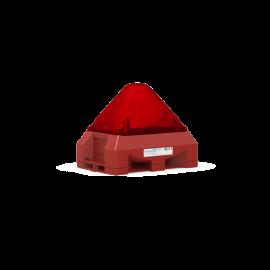 Flashing SounderPY X-MA-05 red,24Vdc,101dB,5J,IP66,RAL3000