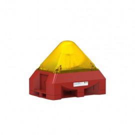 PYRA flashing light sounder PY X-LA 15 YL 230Vac 103 dB(A) 15J