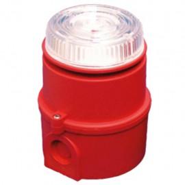 Blinking Sounder IS-mC1 amber ATEX,24Vdc,100dB,IP65